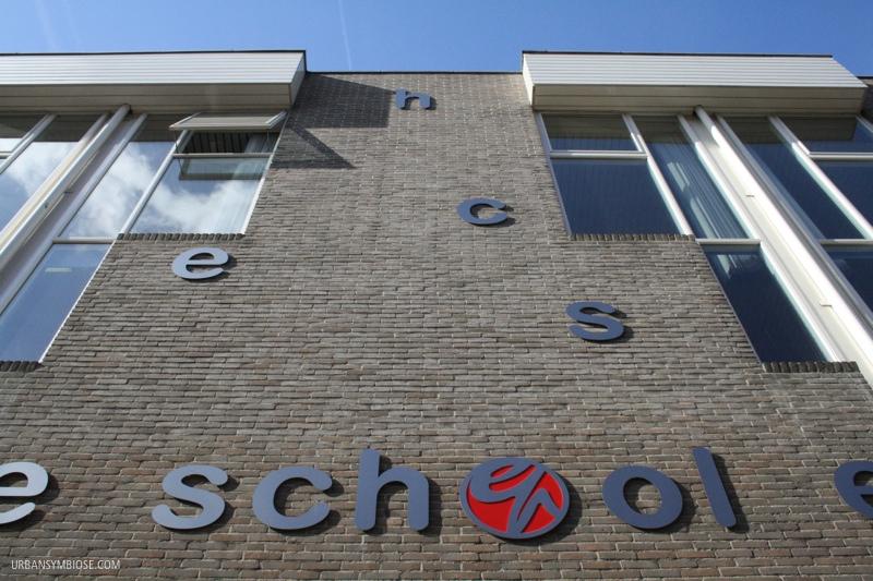 Facade Elisabeth-Paulusschool, Amsterdam [NL]